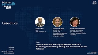 Lessons from Africa on Capacity Enhancement through E-Learning