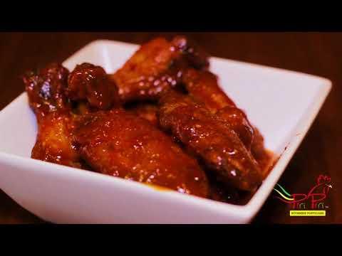 Les ailes de poulet Piri Piri