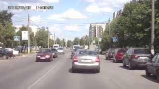 """""""Гонщик"""" на улицах г.Кириши"""