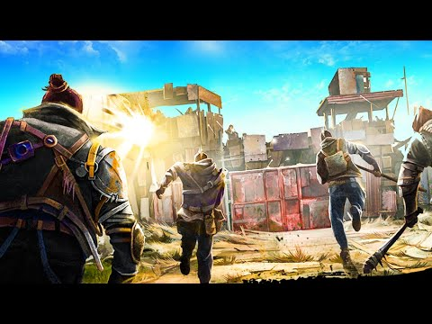 RAIDERS are attacking the WALL in this Post Apocalyptic Colony Survival - Surviving the Aftermath!