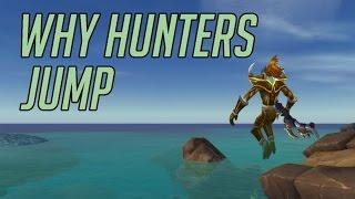Почему Охотники всегда прыгают в PvP