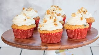 Banana Cupcakes With Cream Cheese Frosting | Recipe