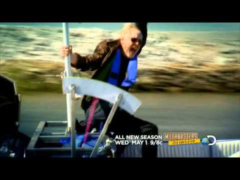 Commercial for MythBusters (2013) (Television Commercial)