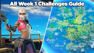 All Week 1 Challenges Guide (Fortnite Chapter 2 Season 3)