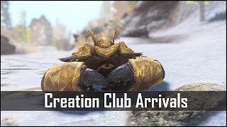 Skyrim - Armored Mudcrabs Have Finally Arrived... New Creation Club Arrivals for The Elder Scrolls 5