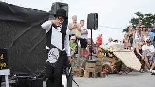 preview picture of video 'Yosuke Ikeda podczas Karnawału Sztukmistrzów, Lublin 2014'