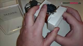 Skagen Jorn Hybrid HR Smartwatch.de - Unboxing [DEUTSCH]