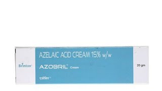 How It Work Azobril Cream//acne//masks///pigmentation,