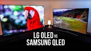LG OLED TV vs Samsung QLED: ¿Cuál es el Smart TV definitivo?