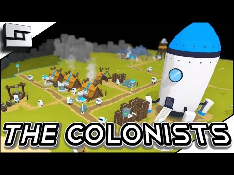Super Fun City Builder! The Colonists Gameplay Ep 1