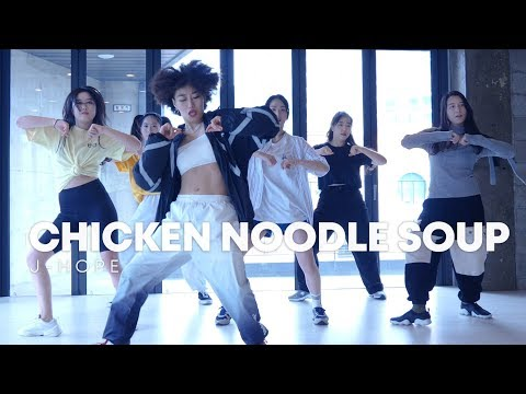 j-hope 'Chicken Noodle Soup (feat. Becky G)' dance practice