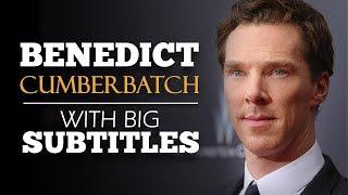 ENGLISH SPEECH | BENEDICT CUMBERBATCH: Just Do It! (English Subtitles)