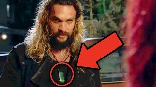 AQUAMAN Trailer Breakdown! Easter Eggs & Details You Missed! #SDCC