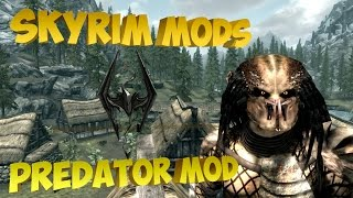 Skyrim mods - Раса Хищников|Predator Race