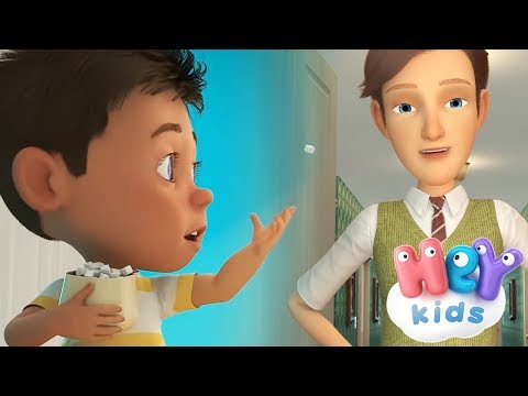 Johny Johny Yes Papa song with lyrics | Nursery rhymes collection by HeyKids