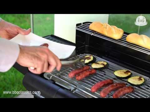 Barbecue Électrique sur Pieds BBQ Classics YR4 / BBQ Classics YR4 Electric Barbecue with Legs