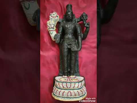 Lord Balaji with Abooshanam 1 1/2 feet