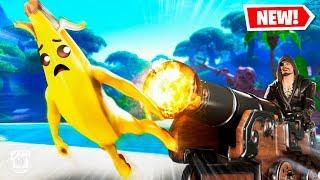 *NEW* BANANA PLAYS PIRATE SHIP WARS Custom Gamemode in Fortnite Creative Mode! *SEASON 8*