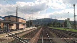 preview picture of video 'Cabview (Břeclav) - Kúty - Bratislava EC 275 Slovan 350 014-7'