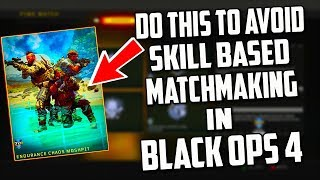 does advanced warfare have skill based matchmaking