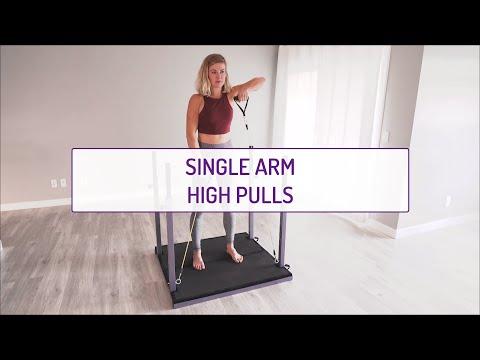 Single Arm High Pulls