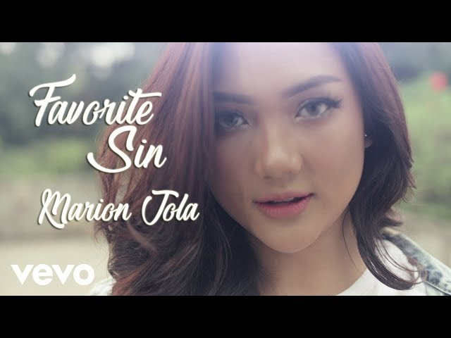Favorite Sin Marion Jola Lyrics Video