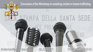2017.11.06 - Conclusion of the Workshop on assisting victims in human trafficking