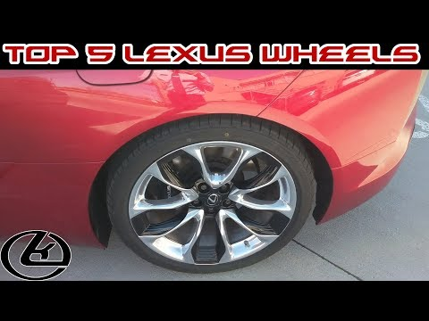 Top 5 Lexus Wheels In Production