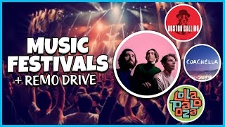 MUSIC FESTIVAL HYPE! Ridiculous or Worth It? (ft Remo Drive)