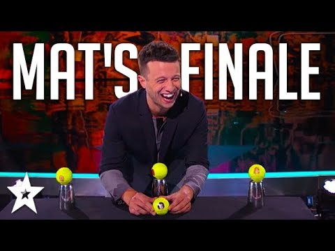 Mat Franco Tells A Story With Magic! | America's Got Talent | Magicians Got Talent (видео)