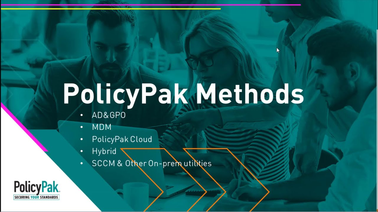 Group Policy, MDM, UEM Tools, and PolicyPak Cloud compared