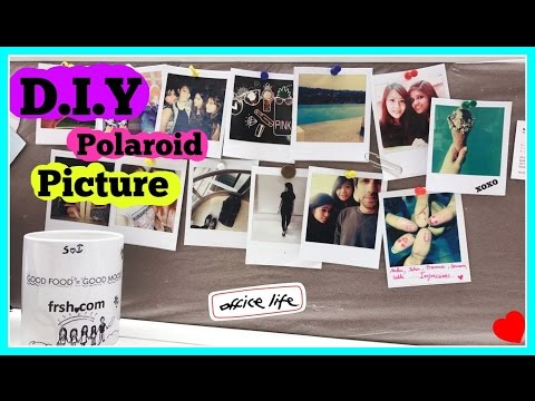 DIY Polaroid Picture (DIY on a Budget)