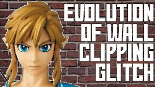 Evolution Of The Wall Clipping Glitch In The Legend Of Zelda Series