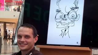 Live Digital Caricatures By Schnellzeichner Xi Ding On Samsung Galaxy Note (Slideshow Pt.2)