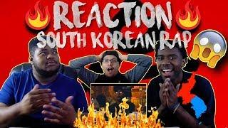 FIRST REACTION TO EUNG FREESTYLE (응프리스타일) - LIVE, SIK-K, PUNCHNELLO, OWEN OVADOZ, FLOWSIK