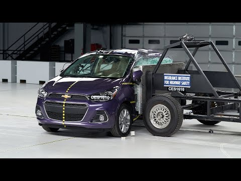 2016 chevrolet spark crash tested by the iihs autoevolution. Black Bedroom Furniture Sets. Home Design Ideas