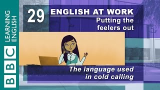 Making a cold call - 29 - Need to make a call? English at Work shows you how