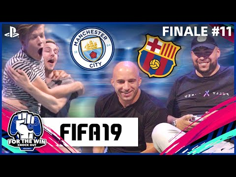 QUCEE & JAYJAY vs HARM & xLINKTIJGER | FIFA19 x FINALE | FOR THE WIN: KNOCK OUT S1 | #11