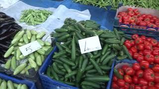 Алания 22 марта пятница Рынок в центре Джума Пазары Цены