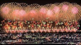 [4KUltraHD]長岡花火大会2017復興祈願花火フェニックス-NagaokaFireworksFestival2017Phoenix-2017.08.02