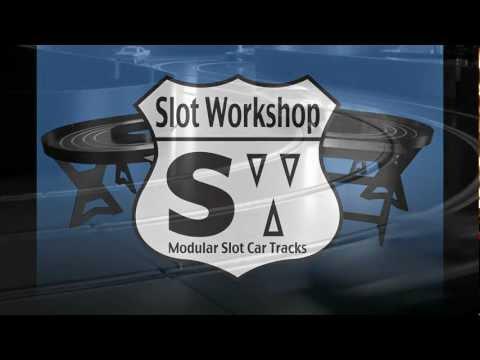 Slot Workshop 4 Lane Modular Slot Car Tracks
