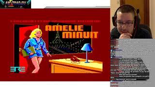 2020-02-08 Let's Play Amstrad CPC – Amelie Minuit (jeu d'aventure – escape room)