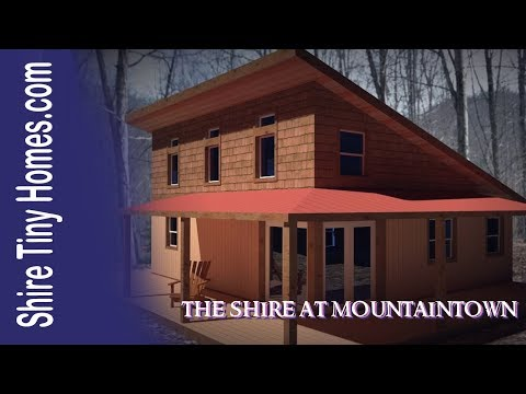 Tiny homes in Ellijay GA - The Shire at Mountaintown