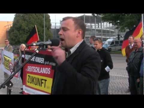Kundgebung vor dem Thüringer Landtag am 20.09.2012