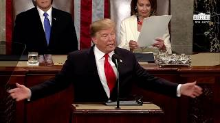 Watch President Donald Trump's 2019 State Of The Union Address