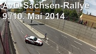 preview picture of video 'AvD Sachsen-Rallye 2014 in Zwickau, 10. Mai 14, Teil 5'