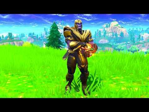 Thanos Orange Justice Dance Emote Dance Pt3 Fortnite Battle Royale