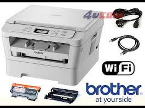 Brother DCP 7055 Toner Cartridge Replacement /Brother DCP 7055W tonerkassett utskifting