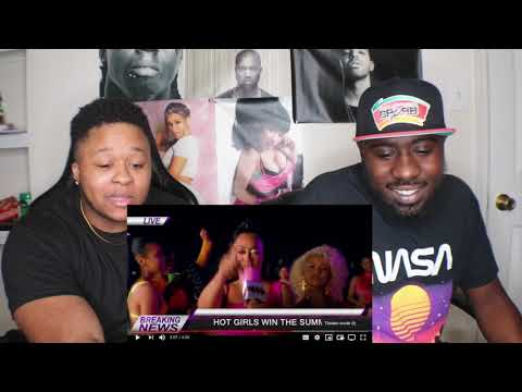 Megan Thee Stallion - Hot Girl Summer ft. Nicki Minaj & Ty Dolla $ign [Official Video] REACTION!!