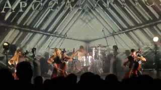 APOCALYPTICA -ONE LIVE 2015 NEW PERFORMANCE